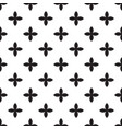abstract seamless pattern mosaic of black vector image vector image