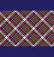 british tartan check plaid seamless pattern vector image vector image