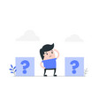 making decision concept vector image