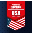 presidentail election usa banner graphic vector image vector image