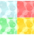 seamless pattern - circles background vector image vector image
