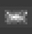 blured grey squares censorship background vector image