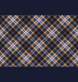 color tartan fabric texture seamless pattern vector image vector image