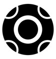 controller center button group template remote vector image