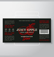 handcrafted fruit spread or jam label template vector image