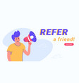 refer a friend and audience announcement