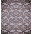 Rococo pattern vector image vector image
