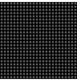 Seamless pattern circle on a black background vector image vector image
