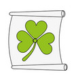 st patrick design vector image vector image