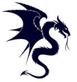 a dragon symbol vector image