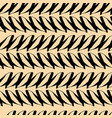 abstract modern black and gold seamless pattern vector image vector image