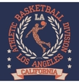 California College basketball vector image vector image