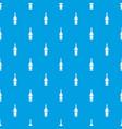design bottle pattern seamless blue vector image vector image