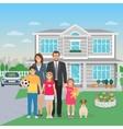 Family Members Flat vector image vector image