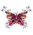 Floral Butterfly2 vector image