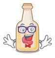 geek apple cider isolated with mascot vector image vector image