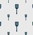 Kitchen appliances icon sign Seamless pattern with vector image