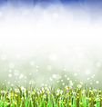 Magic spring background vector image vector image