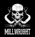 millwrights vector image vector image