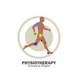 physiotherapy vector image