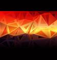 purple orange yellow red brown random sizes low vector image vector image
