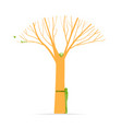 tree hug concept of green nature love vector image vector image