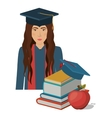 university education design vector image vector image