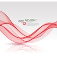 abstract background red wavy