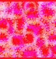 abstract pastel pattern of purple gears and vector image