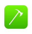 ax icon digital green vector image vector image
