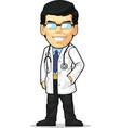 Cartoon of Doctor vector image vector image