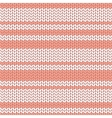 Colorful striped knitted background vector image