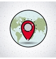 global location design vector image