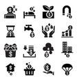 passive income icon vector image vector image