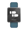 smart watch icon cartoon style vector image vector image