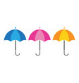umbrella icon template design vector image