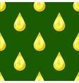Yellow Drops Seamless Pattern vector image