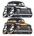 Cartoon Muscle Car vector image