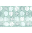 christmas walllpaper vector image vector image