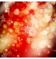 Defocused abstract red EPS 10 vector image vector image