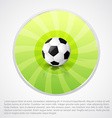 football design with space for your text vector image vector image