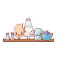 kitchenware and ingredients cartoon vector image