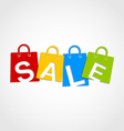 Sale bags vector image