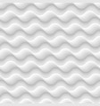 white seamless texturepattern abstract waves vector image vector image