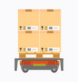 electric box carrier vector image