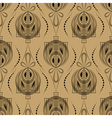 Seamless beautiful antique art deco pattern vector image