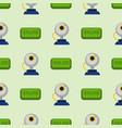 web camera online education distant vector image