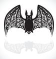 bat graphic art vector image vector image