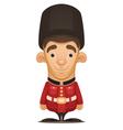 british royal guard vector image