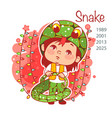 chinese year symbol vector image vector image